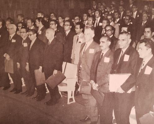 دومین کنفرانس ریاضی ایران 9-12 فروردین 1350 دانشگاه صنعتی شریف (دبیر: آقای دکتر مرتضی انواری)