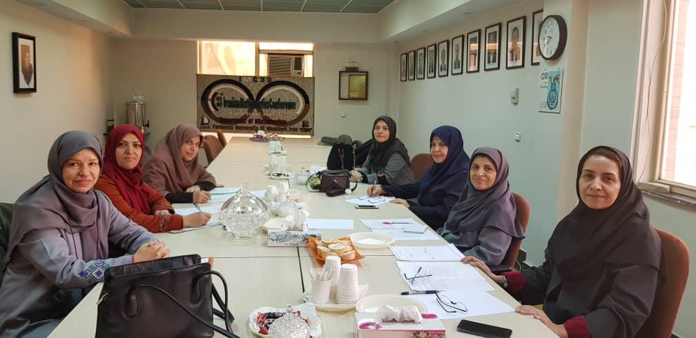 دومین جلسه کمیته بانوان